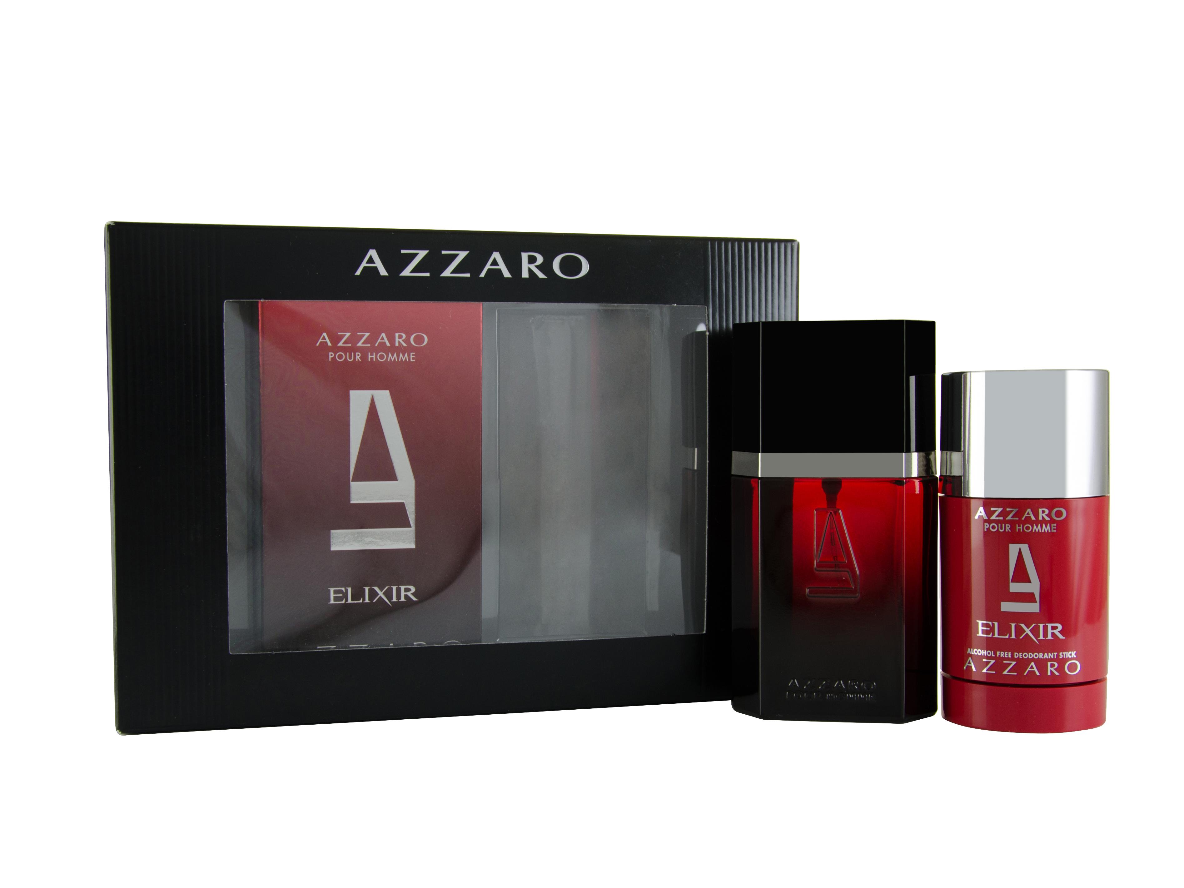 Azzaro Elixir Pour Homme Eau de Toilette 2 Pieces Gift Set