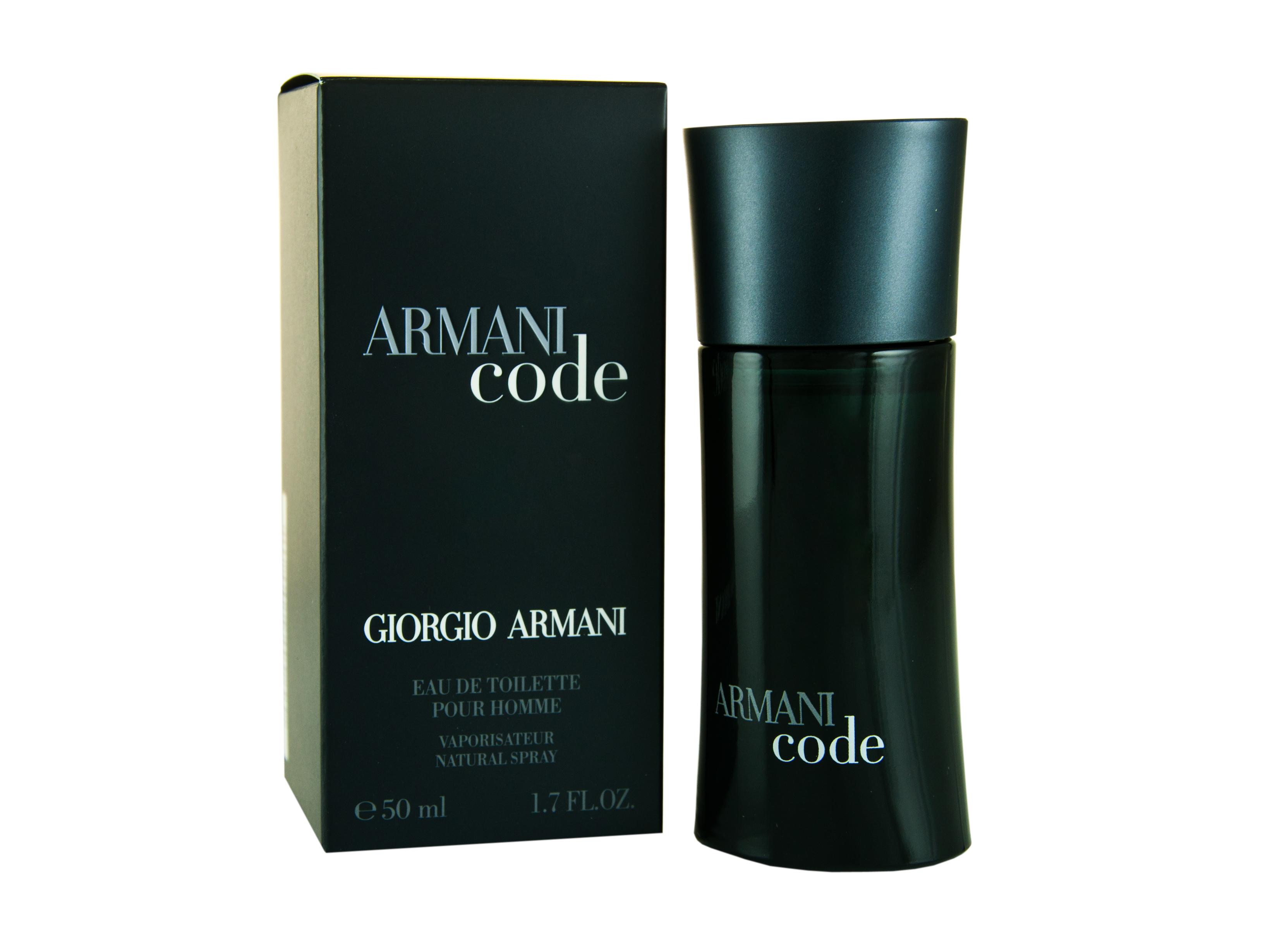 Giorgio Armani Code  Pour Homme Eau de Toilette 50ml