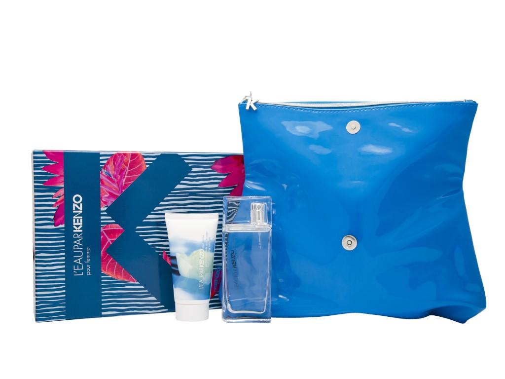 Kenzo L'eau Par Pour Femme Eau de Toilette 3 Pieces Gift Set