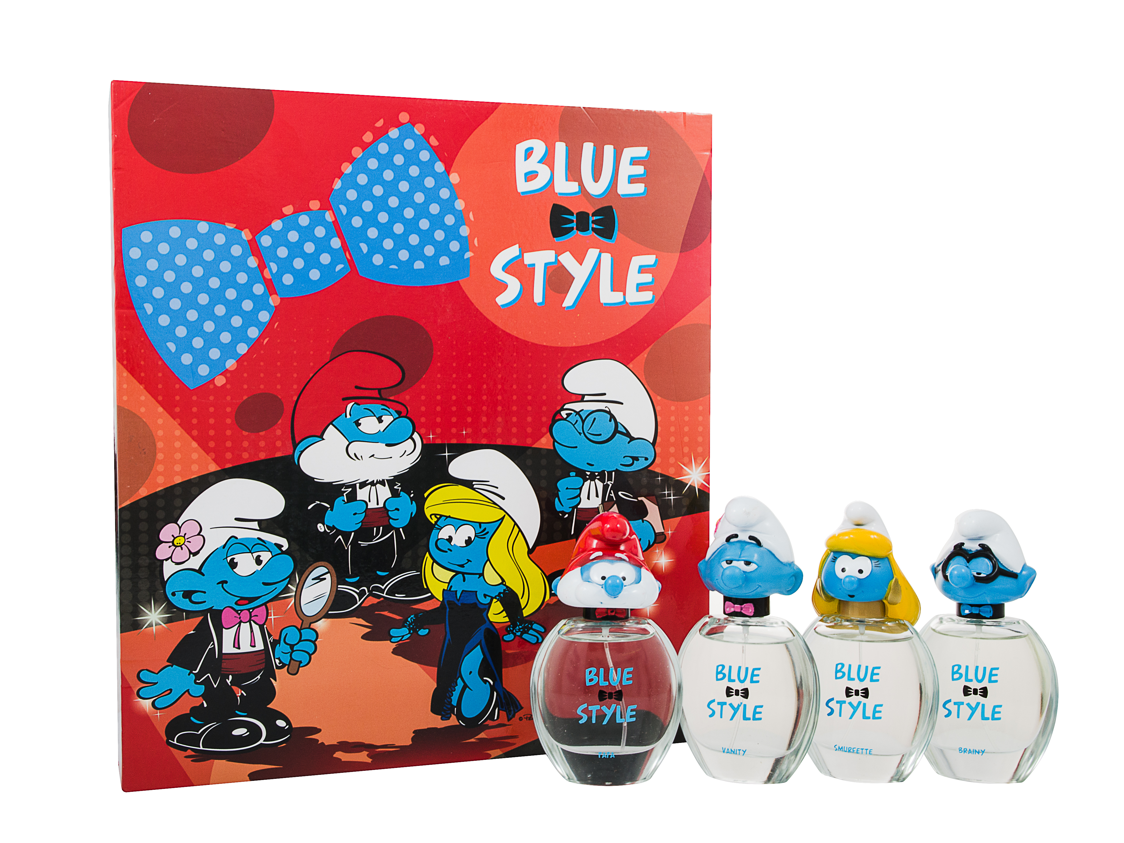 The Smurfs Blue Style Eau de Toilette 4 Pieces Gift Set