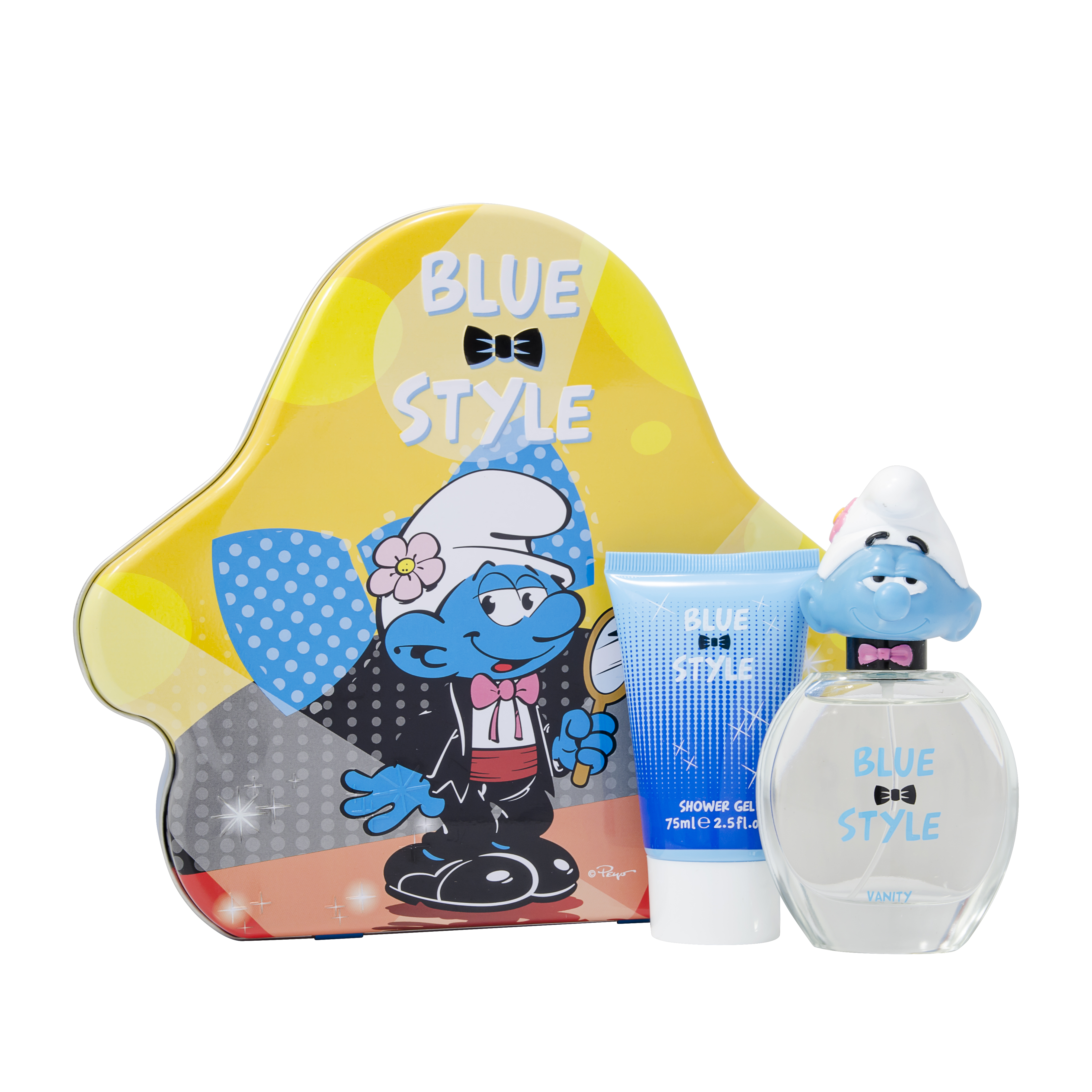 The Smurfs Blue Style Vanity Eau de Toilette 2 Pieces Gift Set