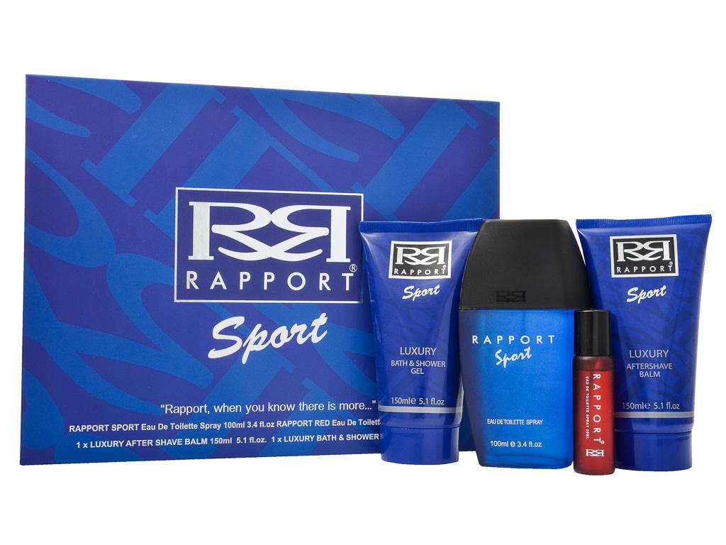 Rapport Sport Eau de Toilette 4 Pieces Gift Set