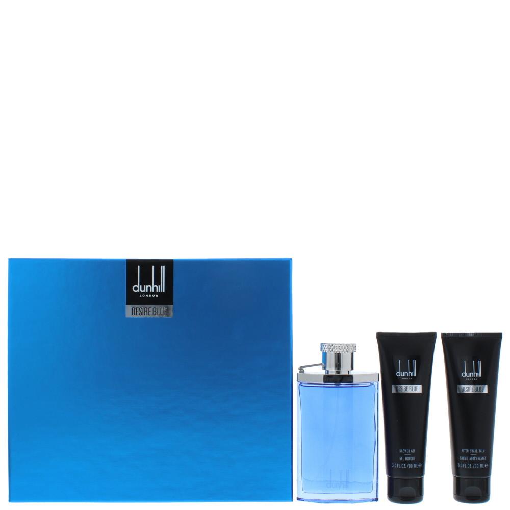 Dunhill Desire Blue Eau de Toilette 3 Pieces Gift Set