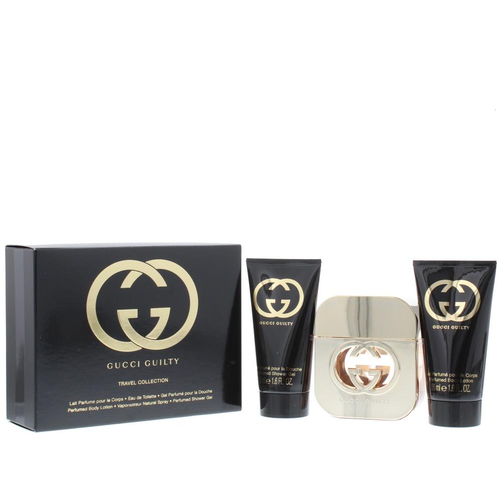 Gucci Guilty Eau de Toilette 3 Pieces Gift Set