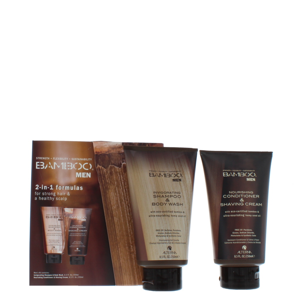 Alterna Bamboo Men 2-In-1 Shampoo & Conditioner 2 Pieces Gift Set