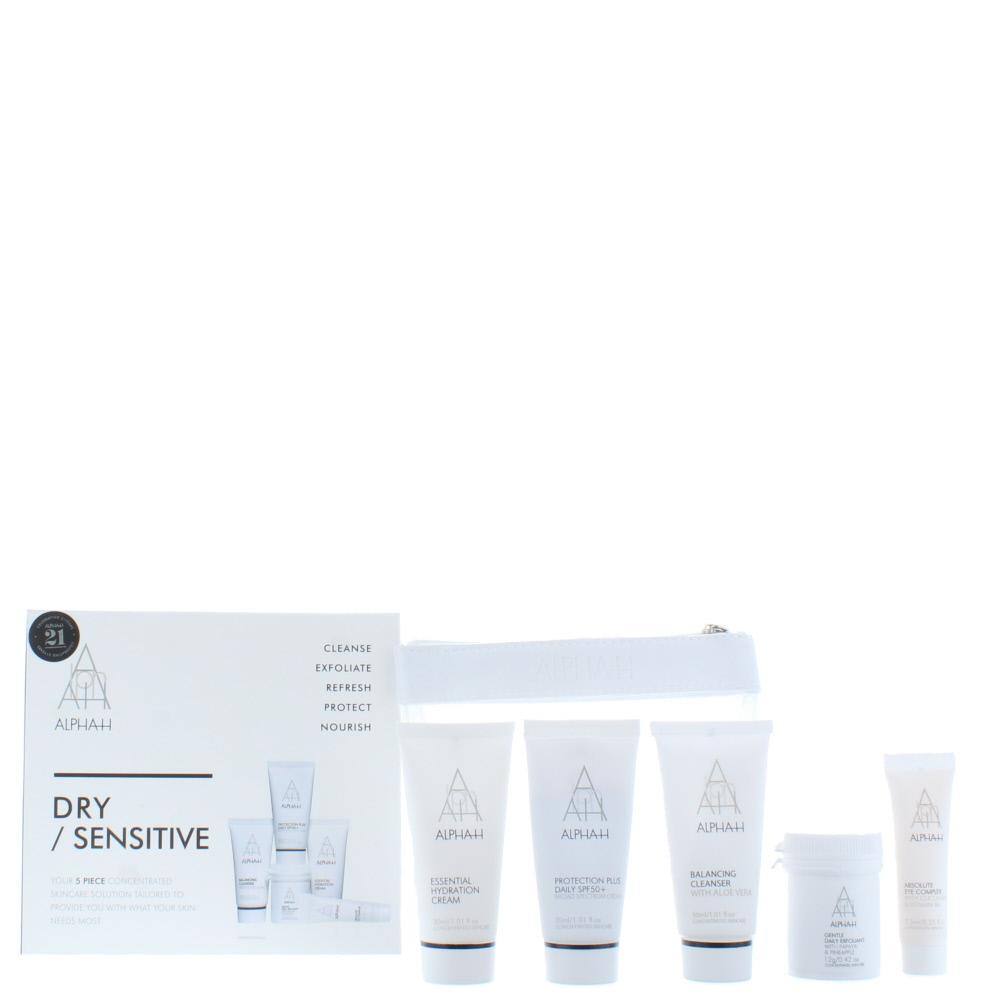 Alpha-H Dry / Sensitive Skincare Set 5 Pieces Gift Set