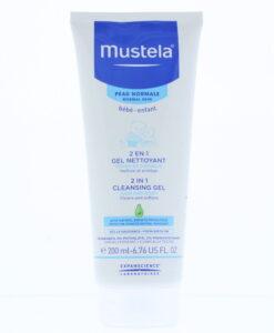 Mustela Bébé-Enfant 2 In 1 Cleansing Gel 200ml