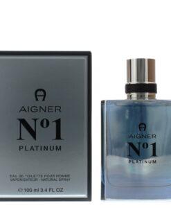 Etienne Aigner No 1 Platinum Eau de Toilette 100ml