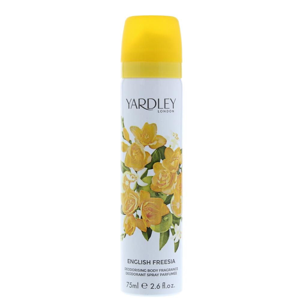 Yardley English Freesia Deodorant Spray 75ml