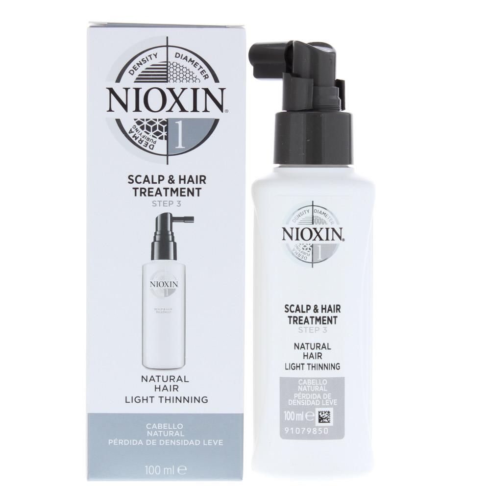 Nioxin 1 Natural Hair Light Thinning Scalp & Hair Treatment 100ml