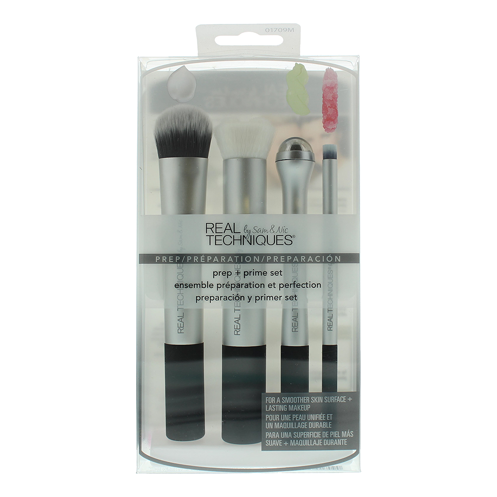 Real Techniques Prep And Prime Set  01709 Make-Up Brush Set