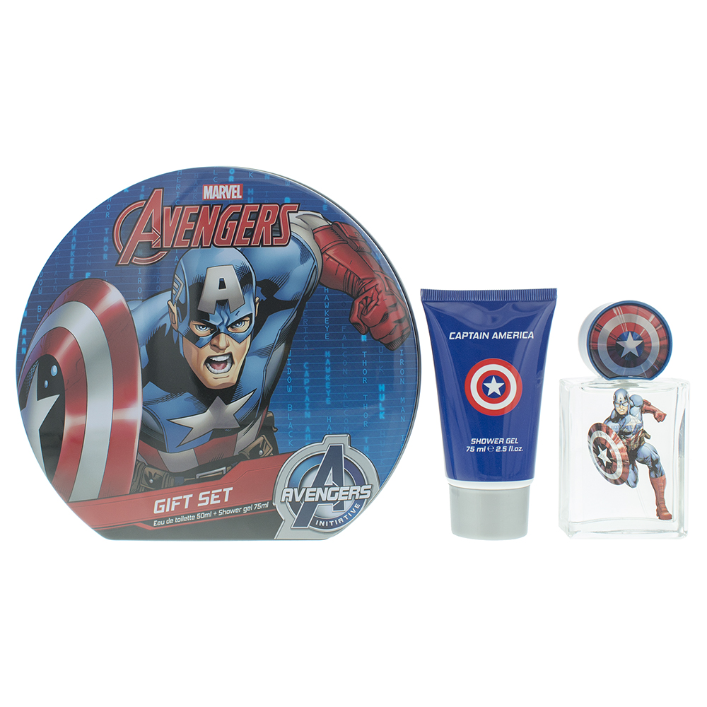 Marvel Captain America Eau de Toilette 3 Pieces Gift Set
