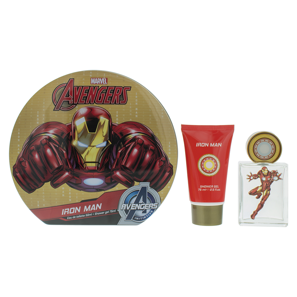 Marvel Iron Man Eau de Toilette 3 Pieces Gift Set