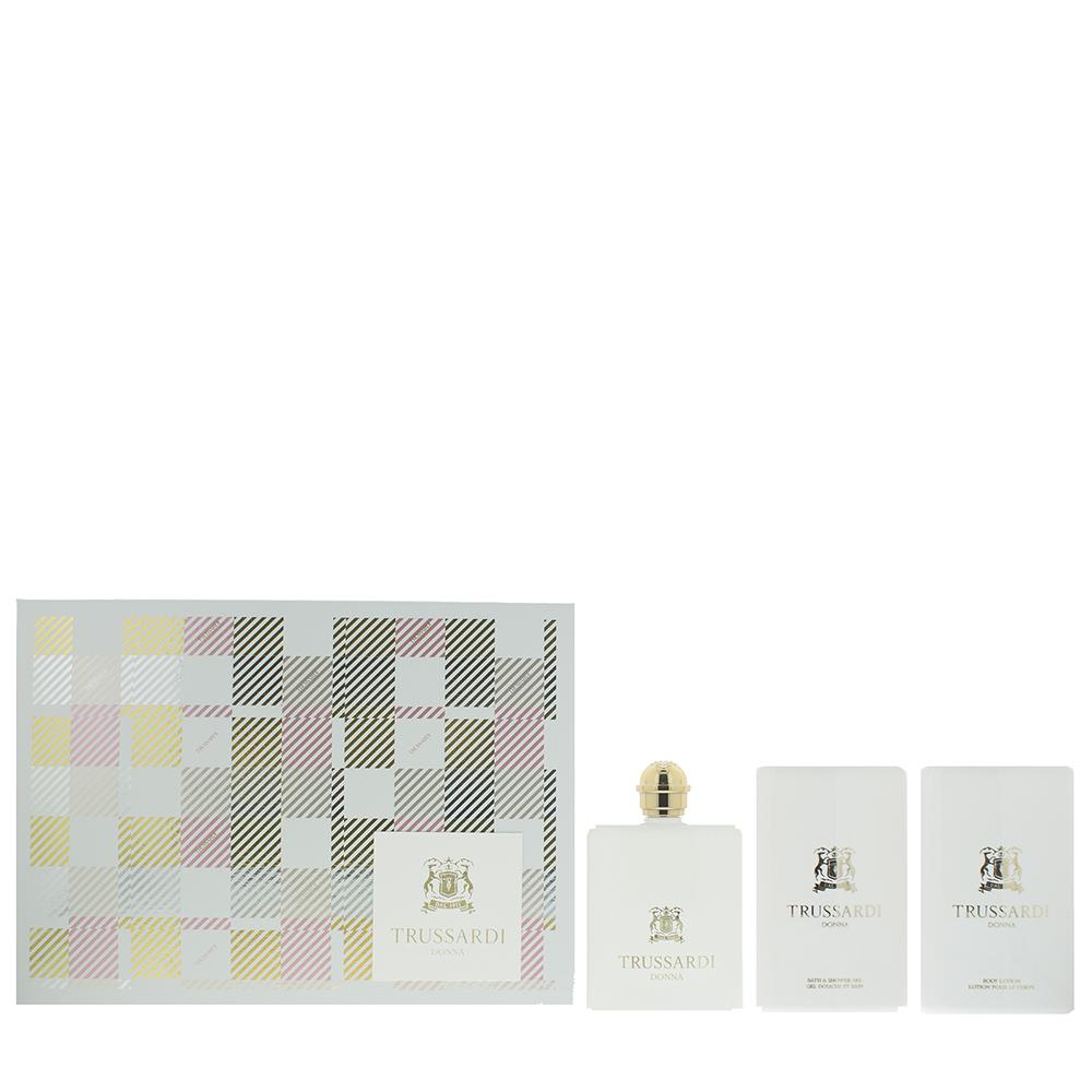 Trussardi Donna White Eau de Parfum 3 Pieces Gift Set