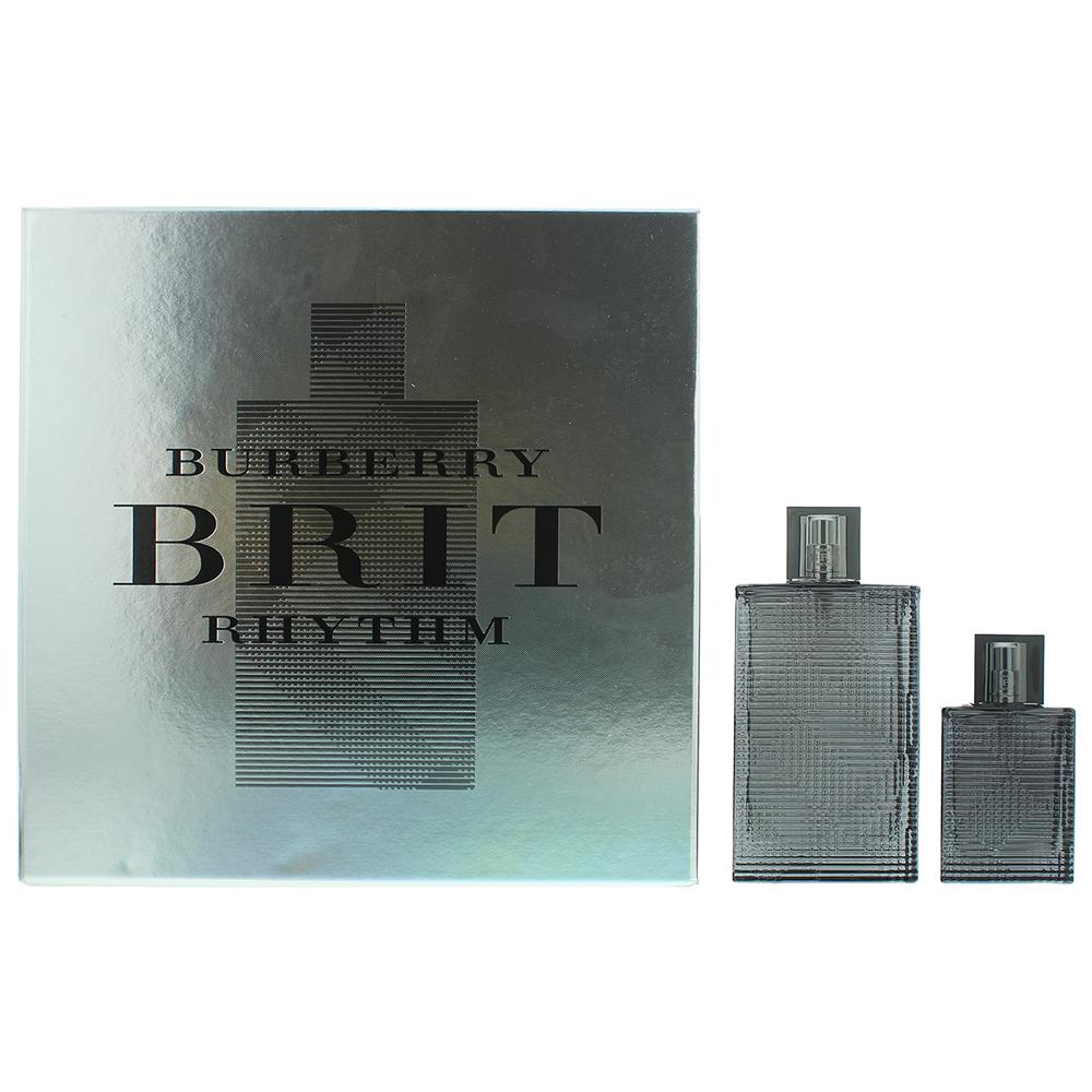Burberry Brit Rhythm Eau de Toilette 2 Pieces Gift Set