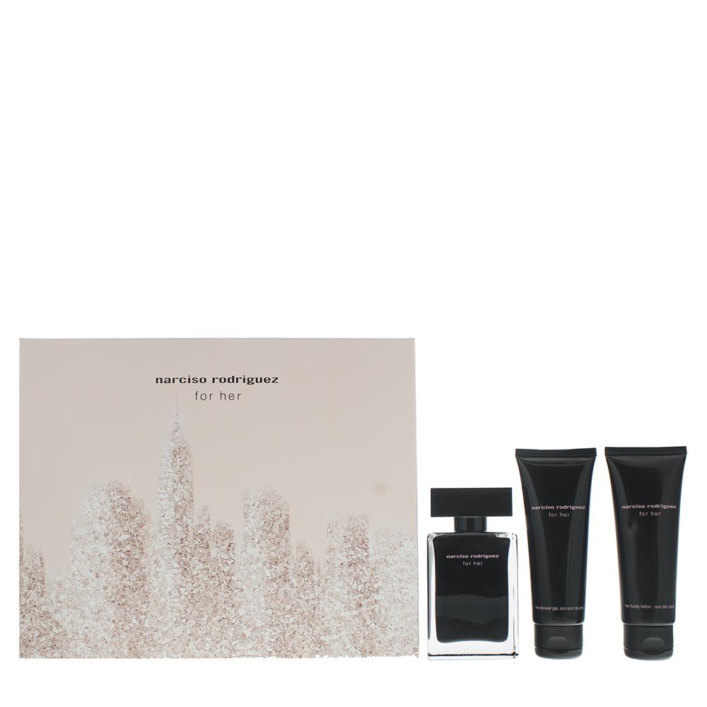 Narciso Rodriguez For Her Eau de Toilette 3 Pieces Gift Set