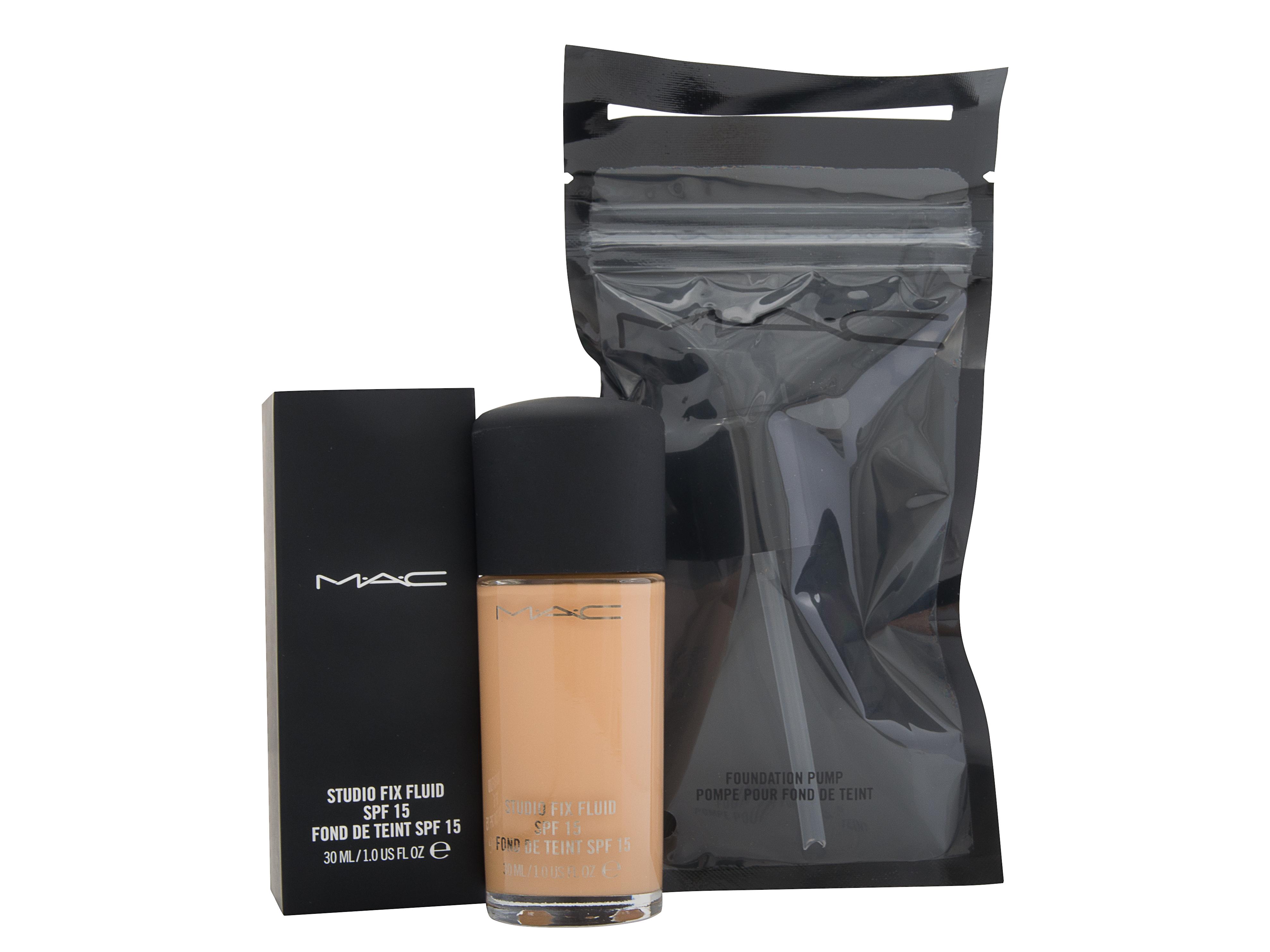 MAC Studio Fix Cosmetic Set Gift Set : MAC Studio Fix Fluid C5 SPF - Pump