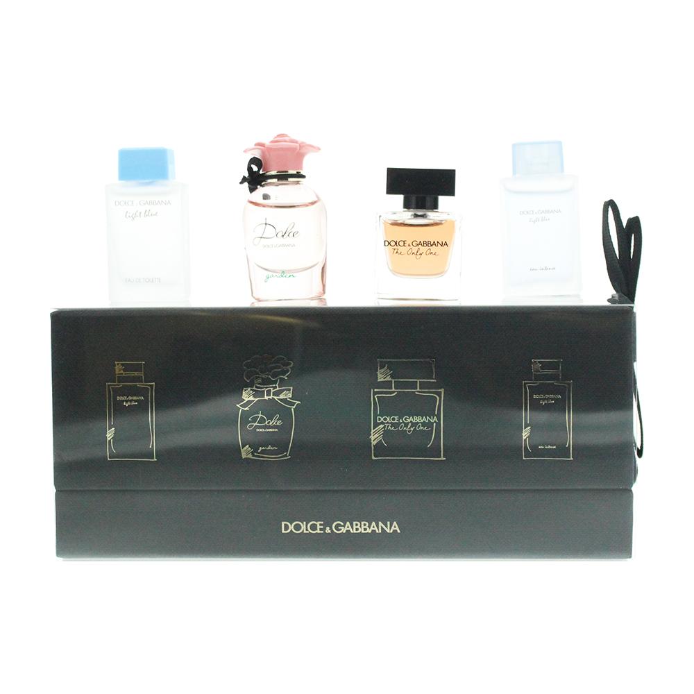 Dolce & Gabbana Miniatures 4 Piece Gift Set