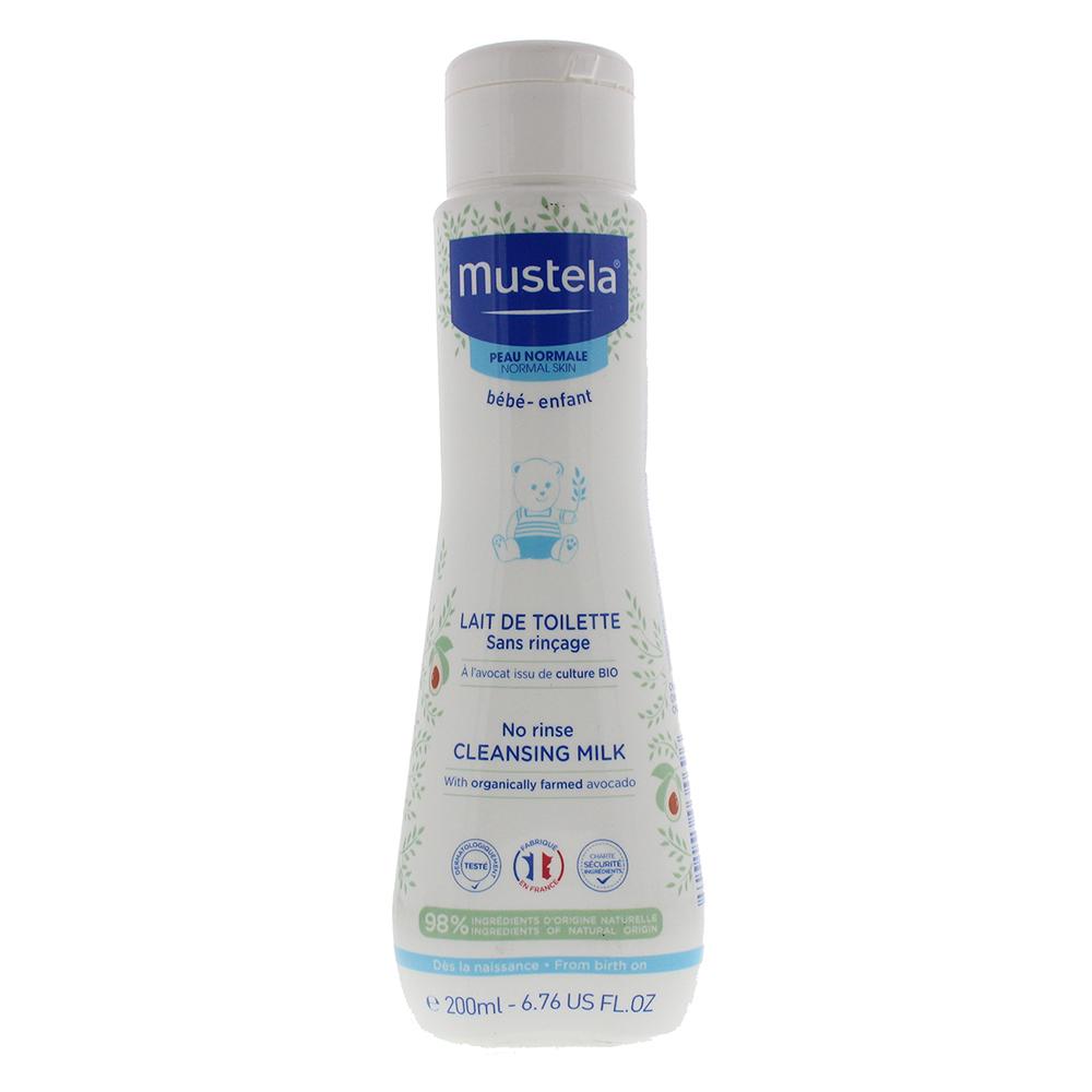 Mustela No Rinse Cleansing Milk 200ml