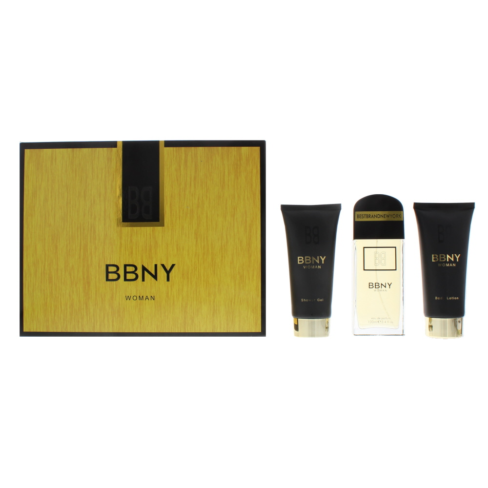 Bbny Woman Eau de Parfum 3 Pieces Gift Set