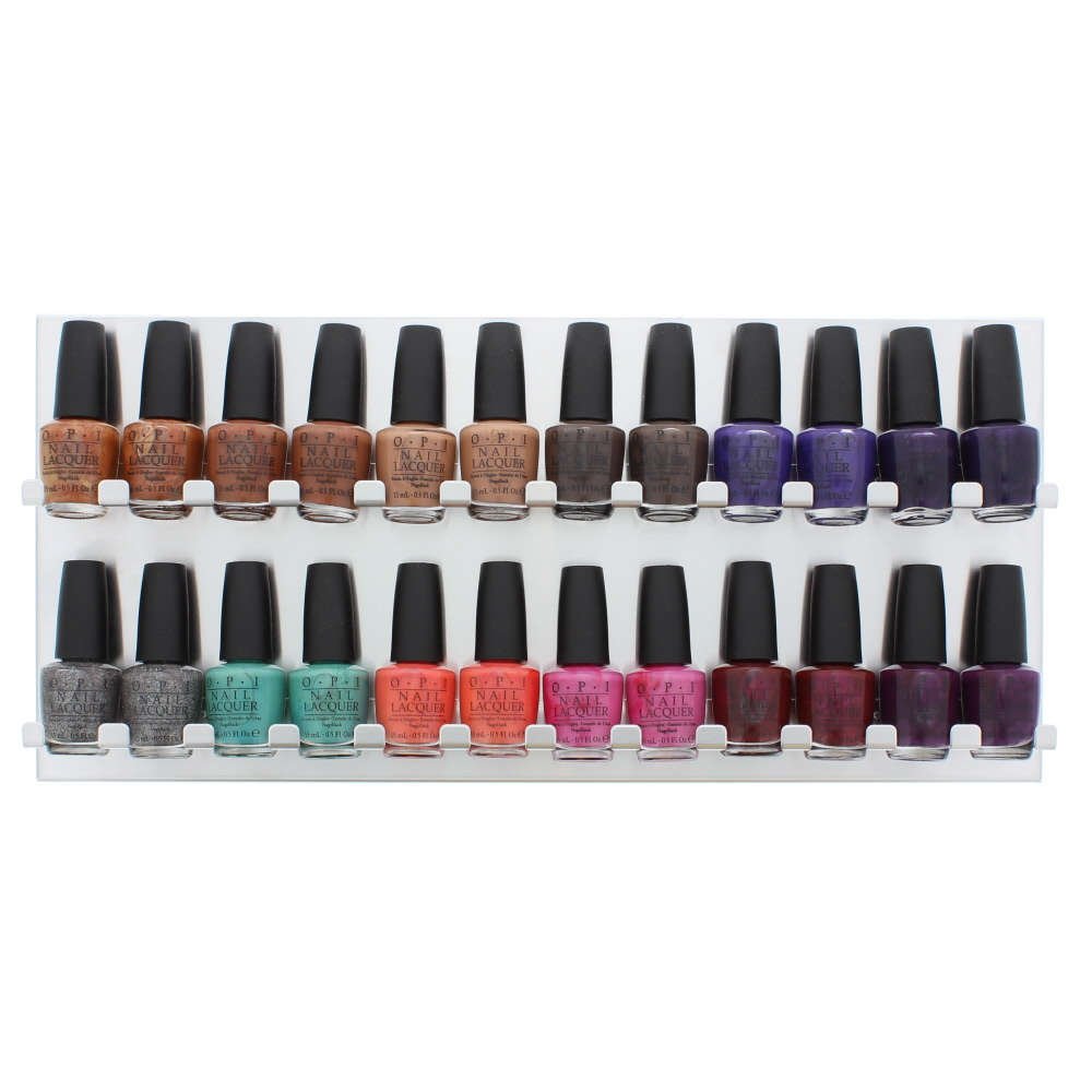 Opi Nordic Collection 15Ml Nail Polish Display Unit 24pcs