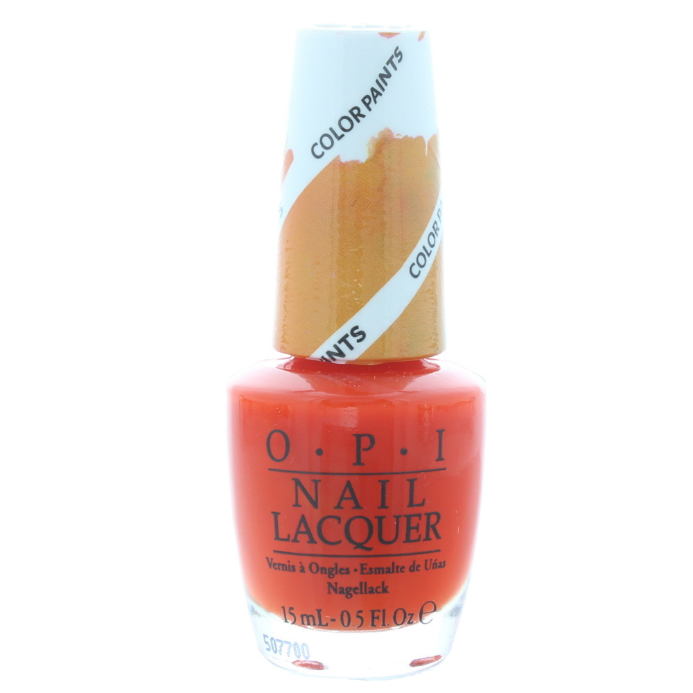 Opi Chromatic Orange Nail Polish 15ml