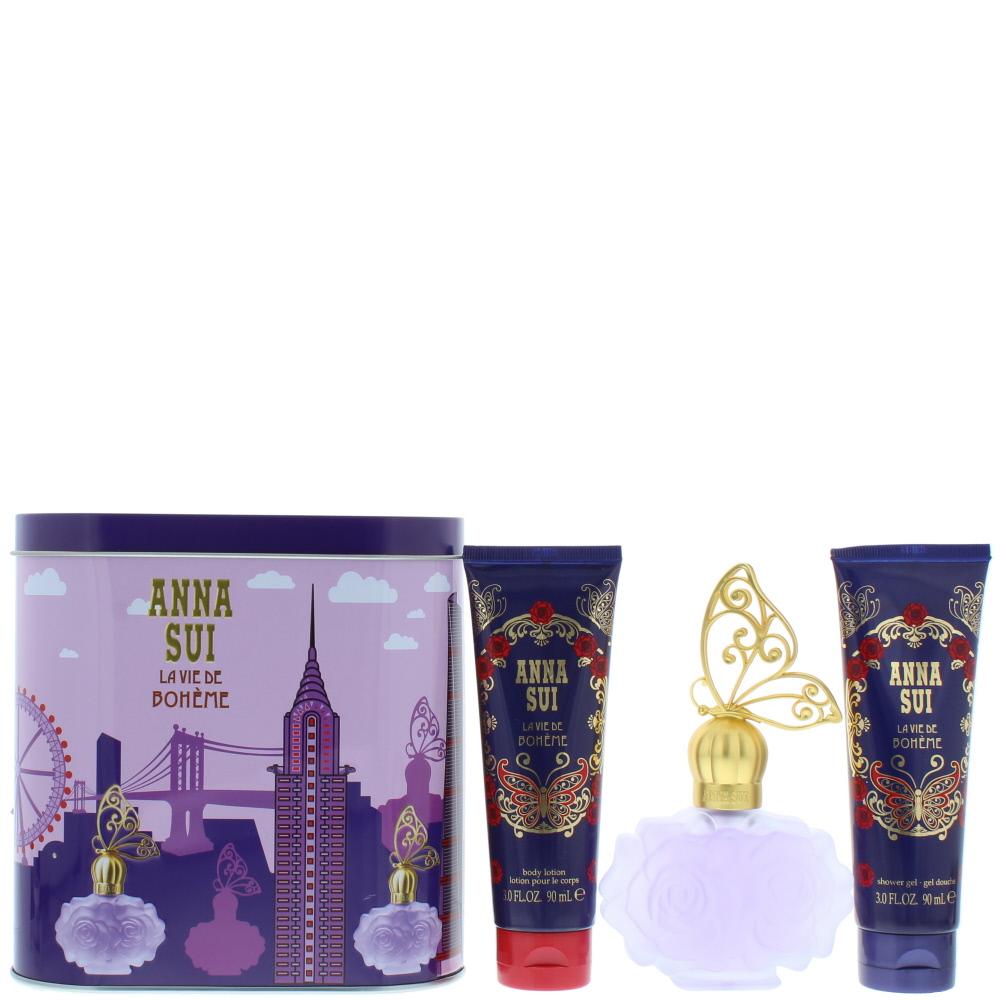 Anna Sui La Vie De Bohème Eau de Toilette 3 Pieces Gift Set