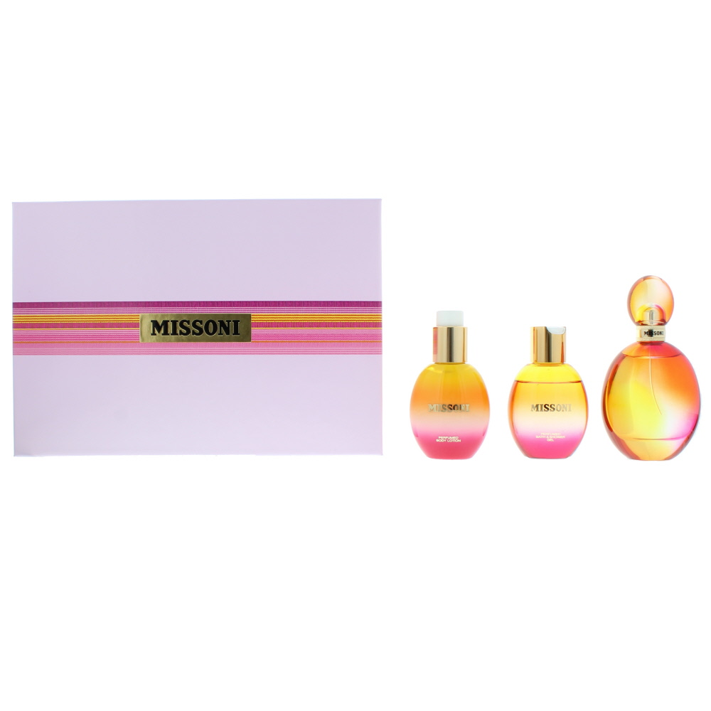 Missoni Eau de Toilette 3 Pieces Gift Set