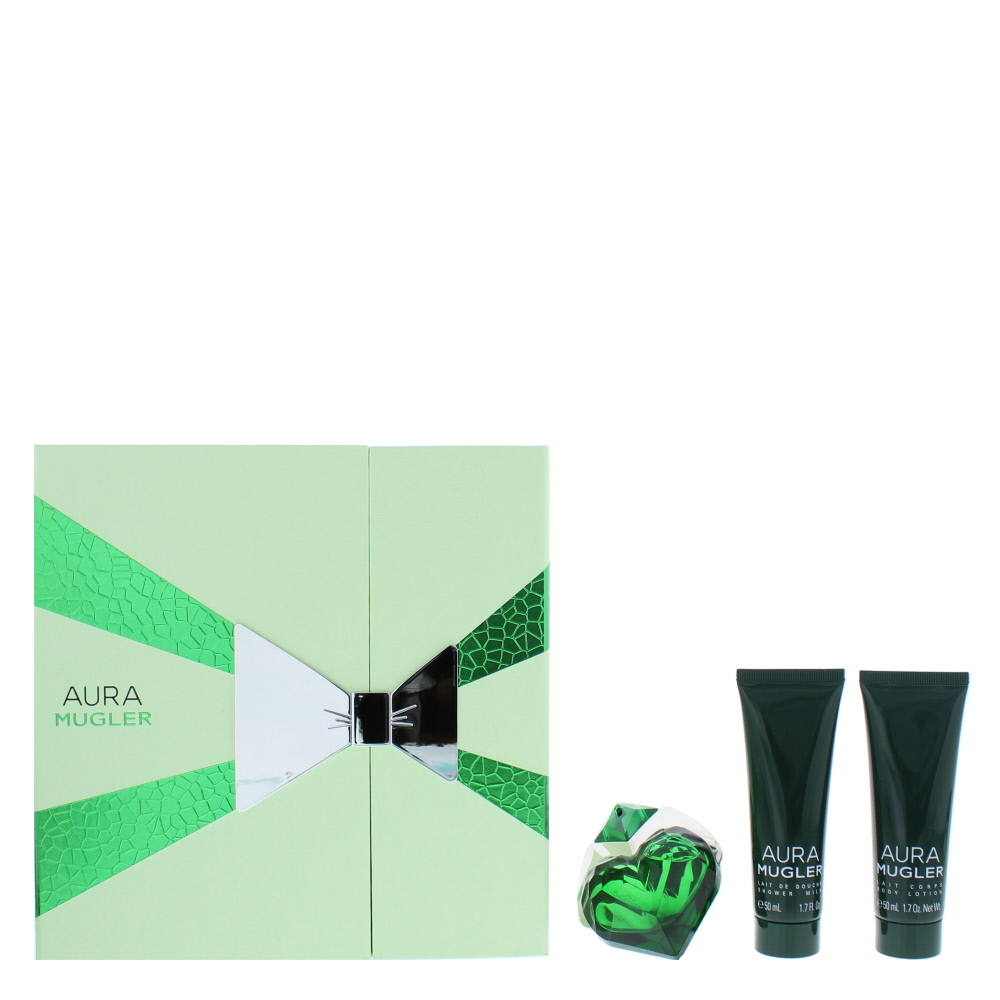 Mugler Aura Eau de Parfum 3 Pieces Gift Set