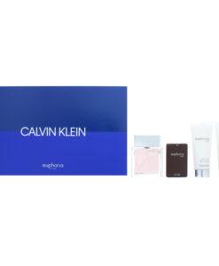Calvin Klein Euphoria Men Eau de Toilette 4 Pieces Gift Set