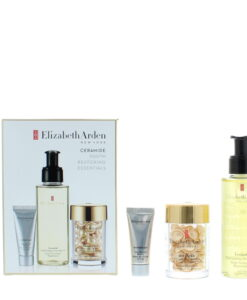 Elizabeth Arden Ceramide Youth Restoring Essentials Skincare Set Gift Set : Oil 100ml - Serum 14ml - Booster 5ml