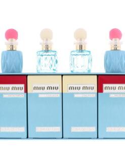 Miu Miu Miniatures Eau de Parfum Gift Set : Eau de Parfum X 2 7.5ml - L'eau Bleue Eau de Parfum  X 2 7.5ml