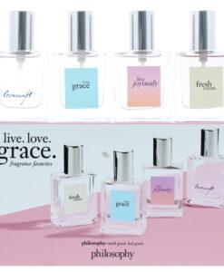 Philosophy Live Love Grace Fragrance Favourites Eau de Parfum 4 Pieces Gift Set