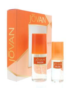 Jovan Musk Eau de Cologne 2 Pieces Gift Set