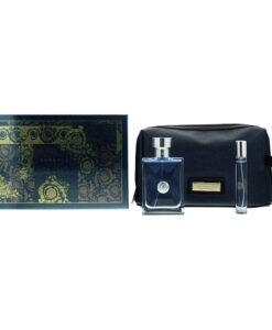 Versace Pour Homme Eau de Toilette 3 Pieces Gift Set