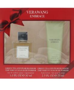 Vera Wang Embrace Green Tea And Pear Blossom Eau de Toilette 2 Pieces Gift Set
