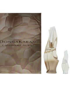 Donna Karan Cashmere Aura Eau de Parfum 3 Pieces Gift Set