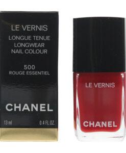 Chanel Le Vernis #500 Rouge Essential Nail Colour Polish 13ml