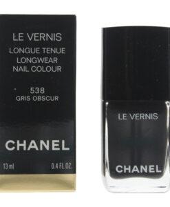 Chanel Le Vernis #538 Gris Onscur Nail Colour Polish 13ml