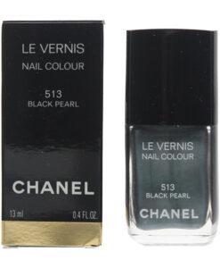 Chanel Le Vernis #513 Black Pearl Nail Colour Polish 13ml