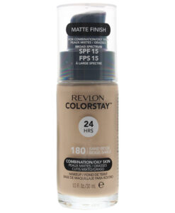 Revlon Colorstay Makeup Combination/Oily Skin Spf 15 180 Sand Beige Foundation 30ml