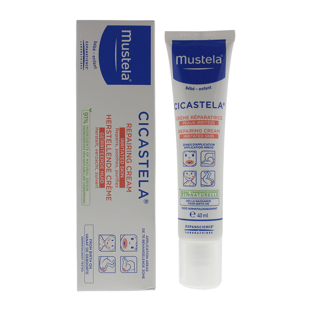 Mustela Bébé-Enfant Irritated Skin Cicastela Repairing Cream 40ml